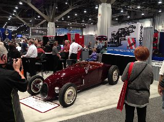 1927 Ford Roadster at 2013 Sema Show